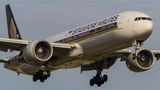 Singapore Airlines Boeing 777-300ER 9V-SWT at London - Heathrow airport