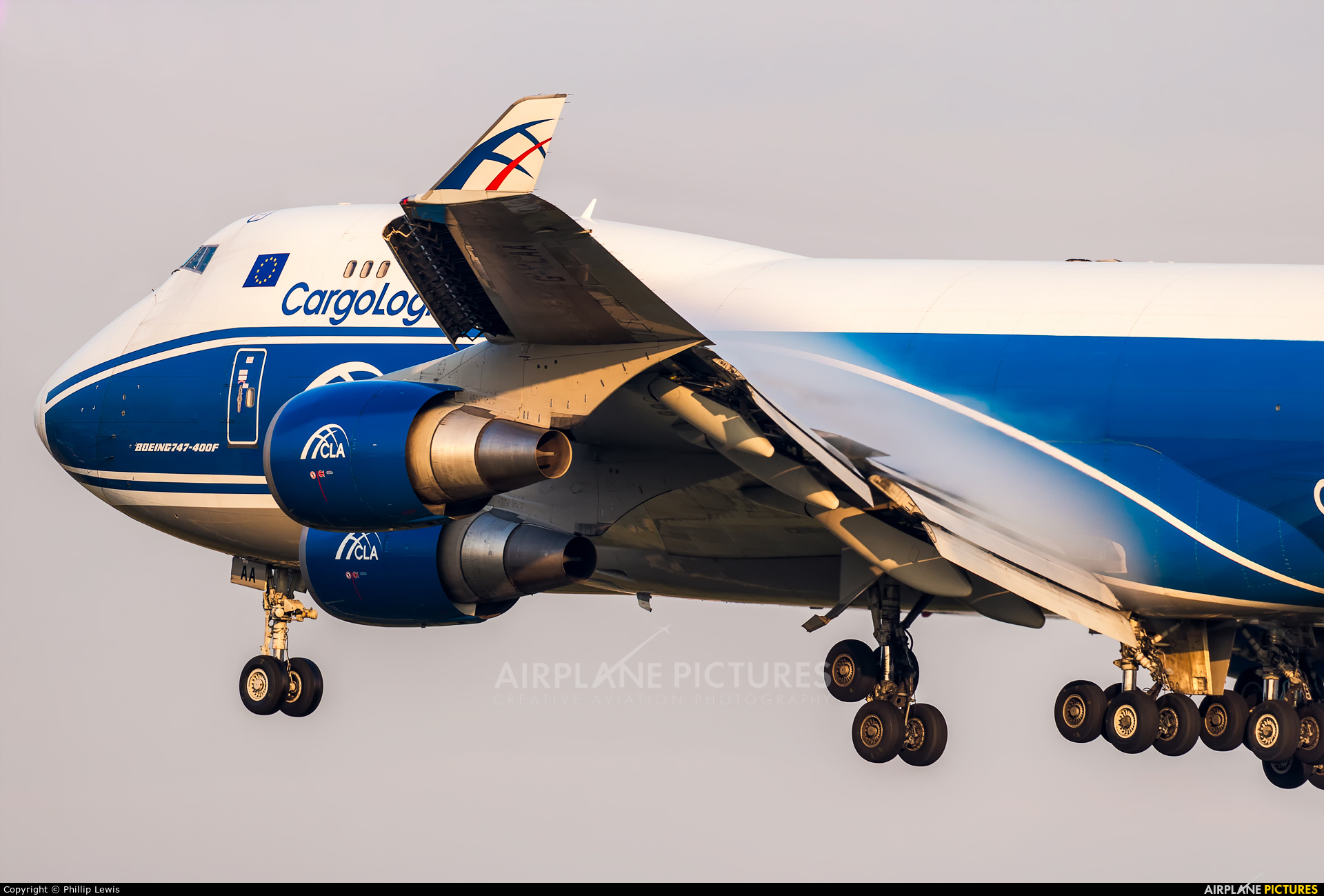 Cargologicair G-CLAA aircraft at Frankfurt