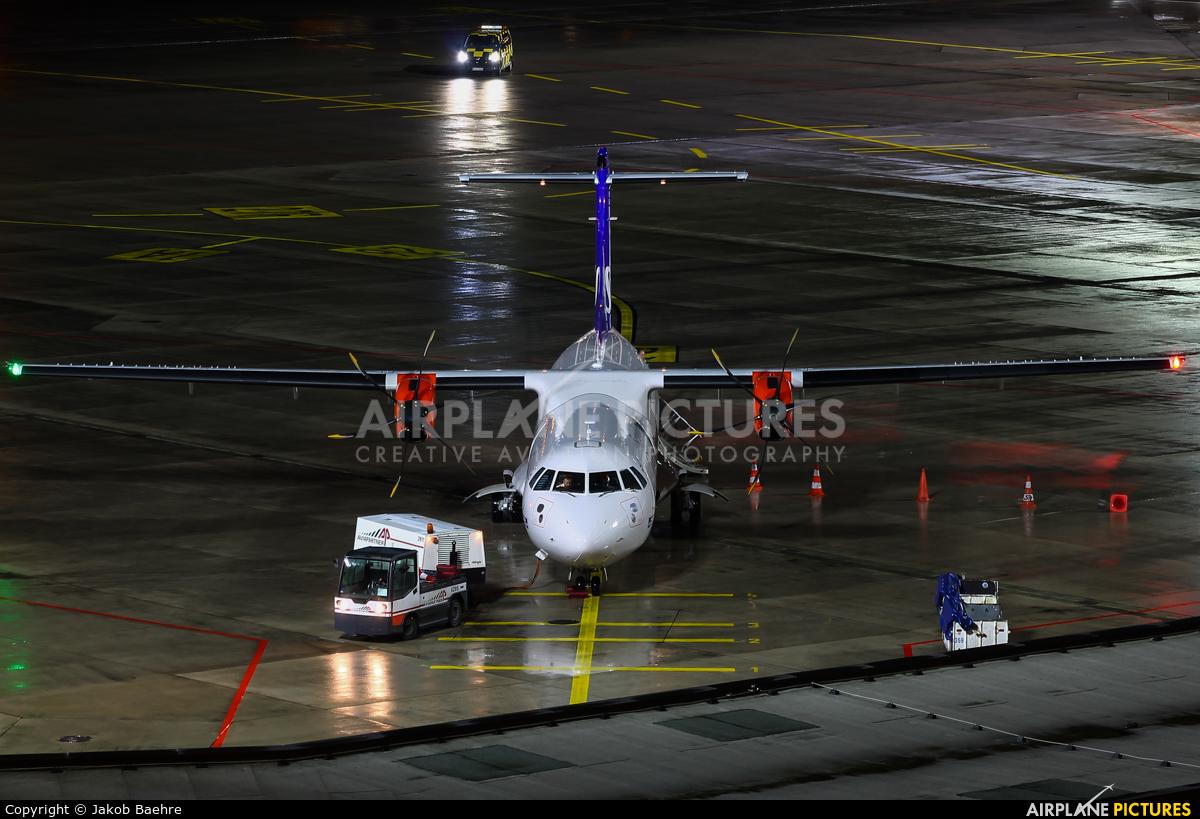 SAS - Scandinavian Airlines ES-ATE aircraft at Hannover - Langenhagen