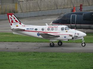 HK-5123 - Ambulancias Aereas de Colombia Beechcraft 90 King Air