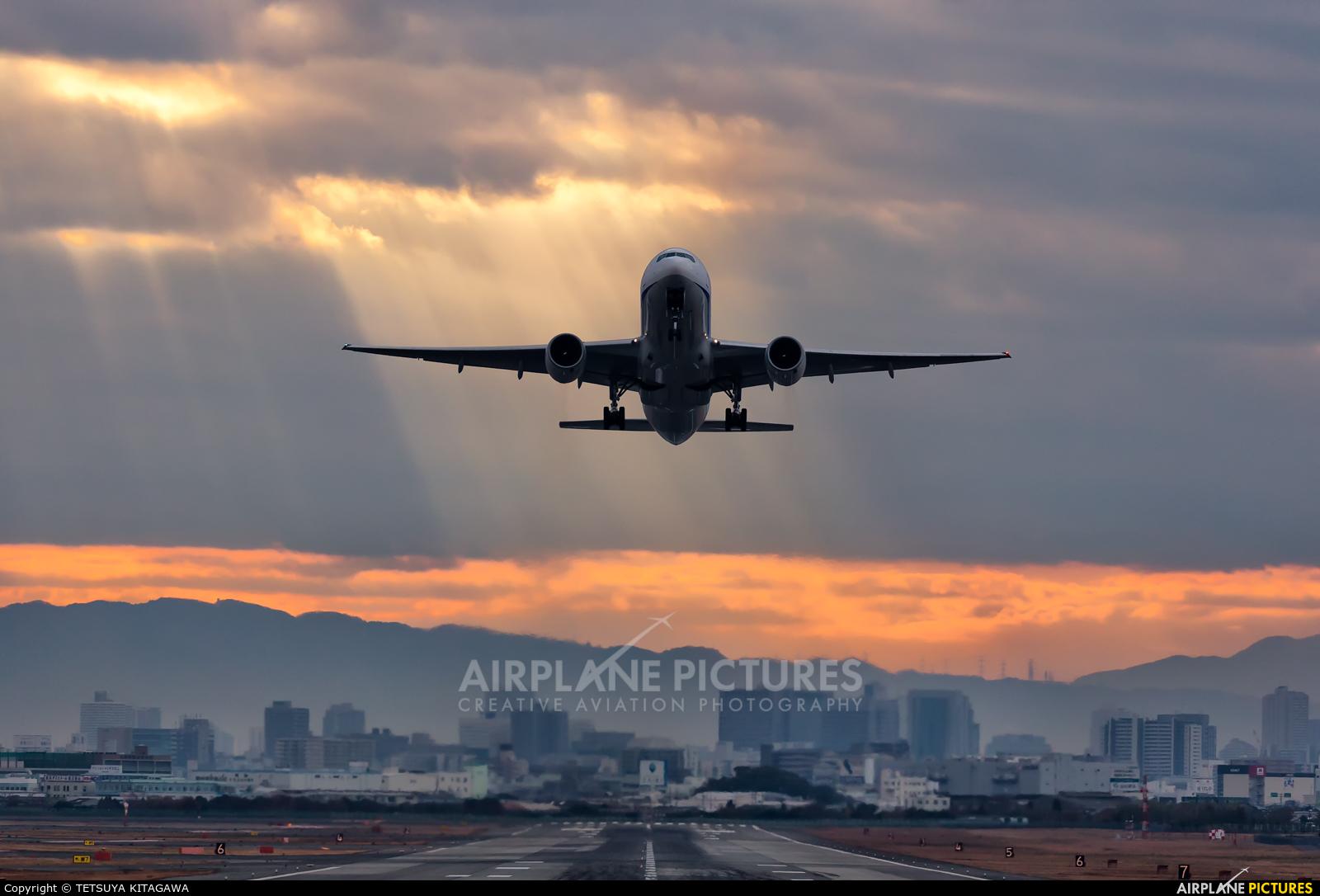 ANA - All Nippon Airways JA713A aircraft at Osaka - Itami Intl
