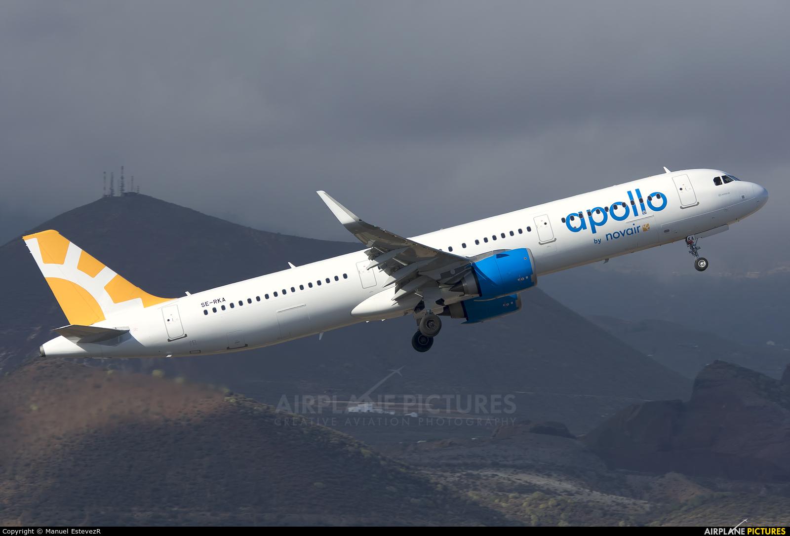 Novair SE-RKA aircraft at Tenerife Sur - Reina Sofia