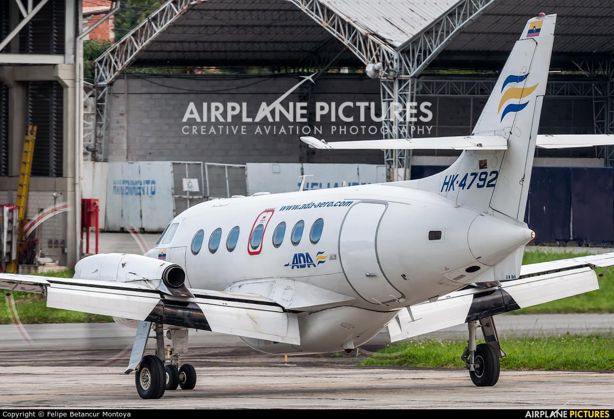 ADA Aerolinea de Antioquia HK-4792 aircraft at Medellin - Olaya Herrera
