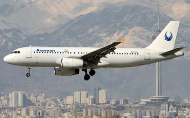 EP-ZAZ - Iran Aseman Airbus A320