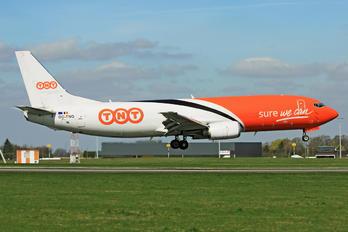 OO-TNQ - TNT Boeing 737-400F