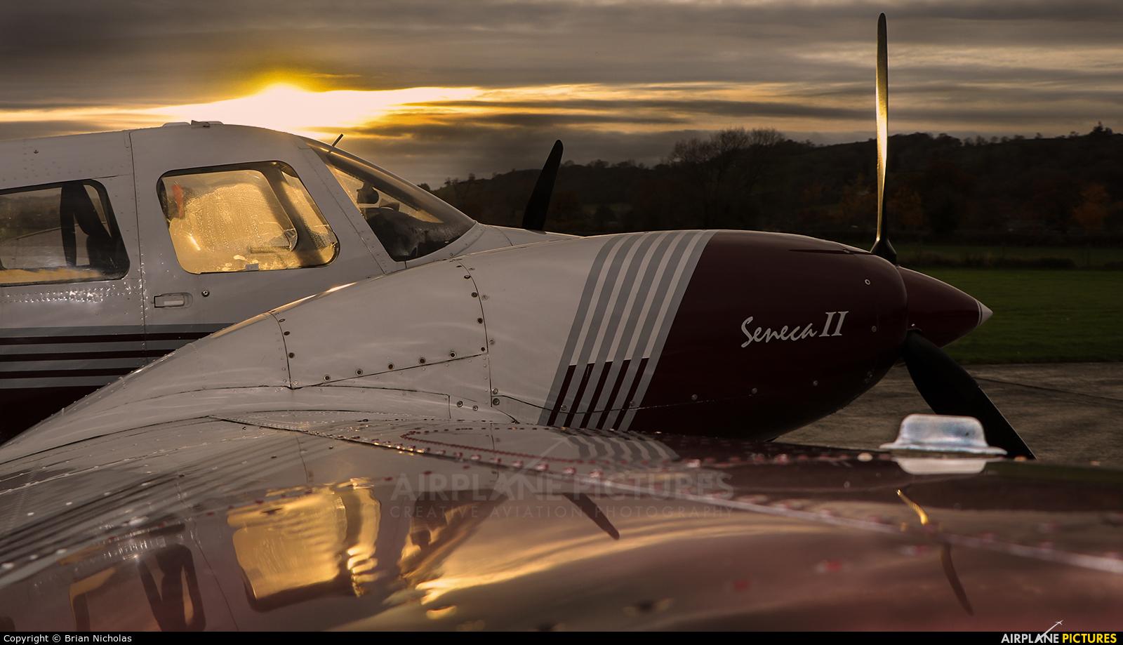 Private G-SENE aircraft at Welshpool