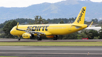 N662NK - Spirit Airlines Airbus A321