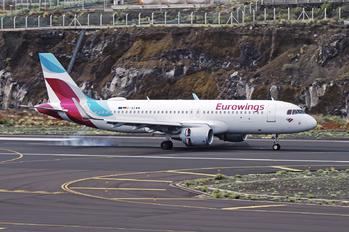 D-AEWW - Eurowings Airbus A320