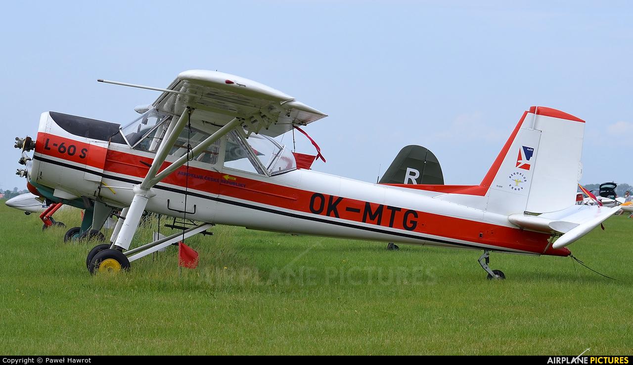 Private OK-MTG aircraft at Leszno - Strzyżewice
