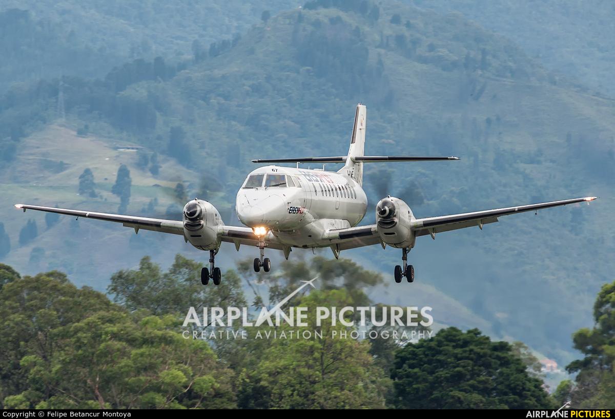 EasyFly HK-4867 aircraft at Medellin - Olaya Herrera