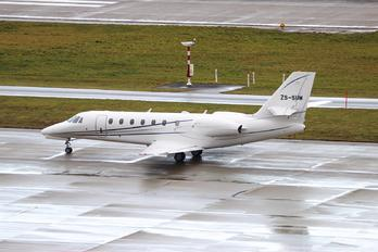ZS-SUM - Swift Flight Cessna 680 Sovereign