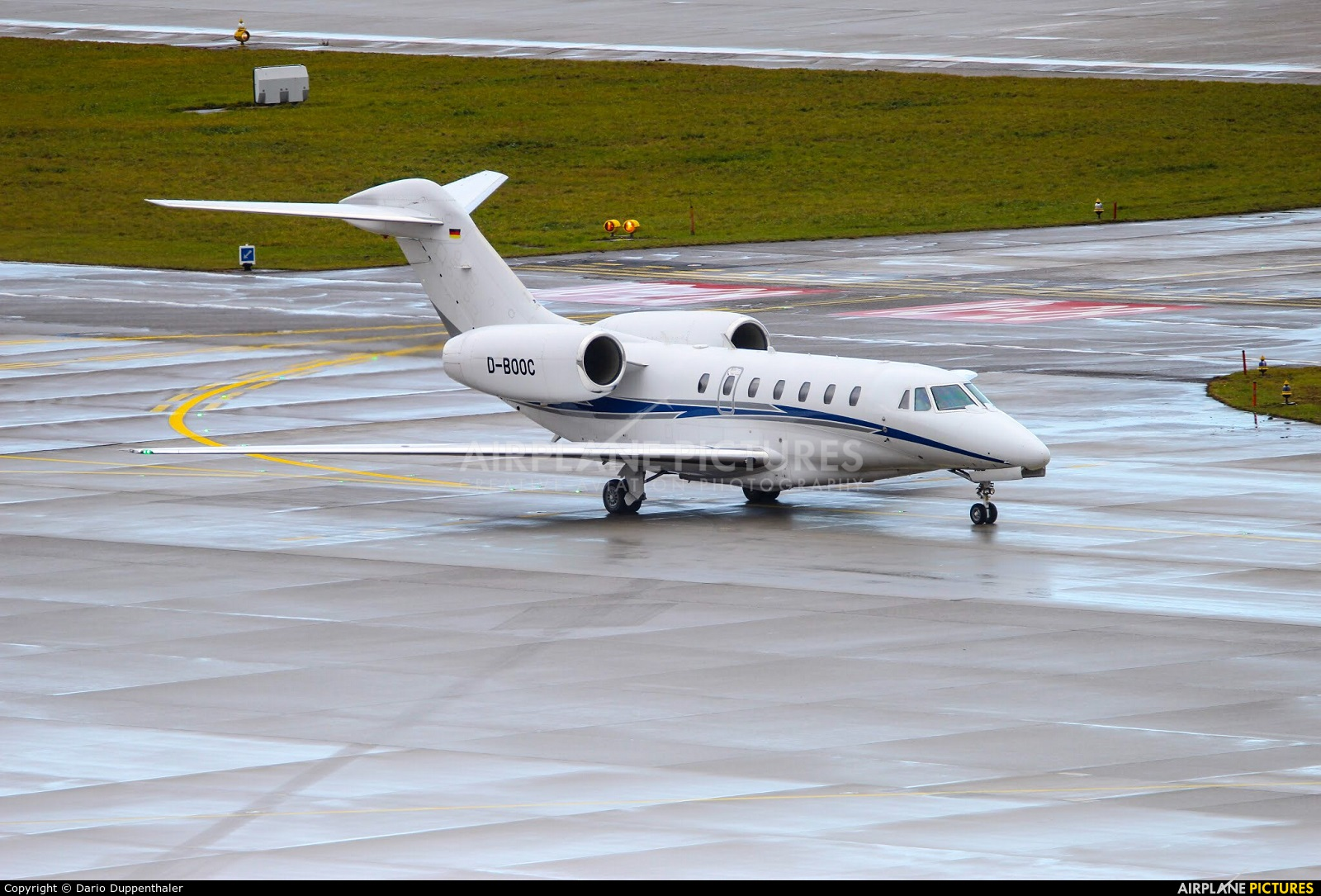 Air X D-BOOC aircraft at Zurich
