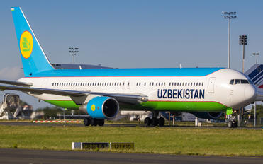 UK67004 - Uzbekistan Airways Boeing 767-300ER