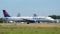 TC-OBY - Onur Air Airbus A321 aircraft