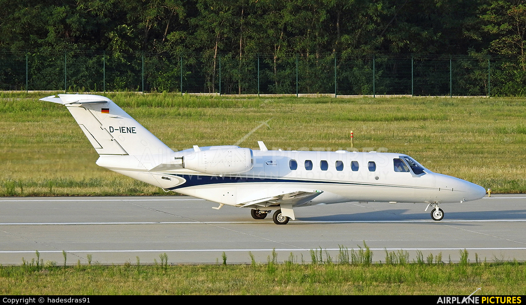 Private D-IENE aircraft at Budapest Ferenc Liszt International Airport