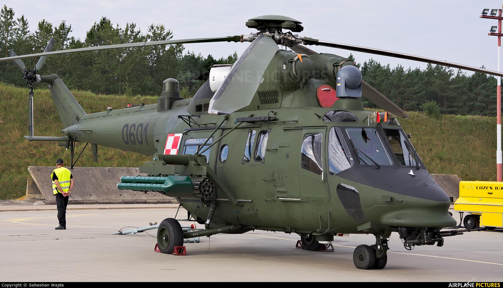 Poland - Army 0601 aircraft at Mirosławiec