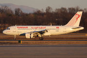 TS-IMO - Tunisair Airbus A319 aircraft