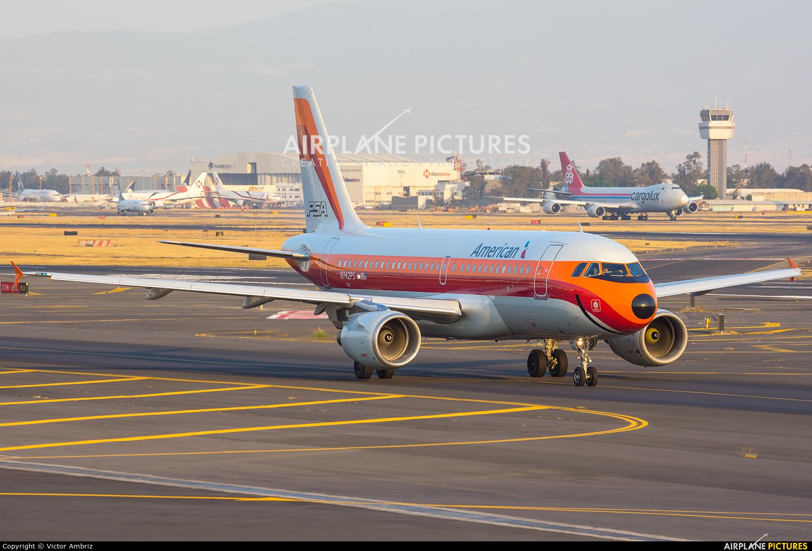 American Airlines N742PS aircraft at Mexico City - Licenciado Benito Juarez Intl