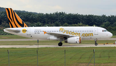 9V-TRA - Scoot Airbus A319