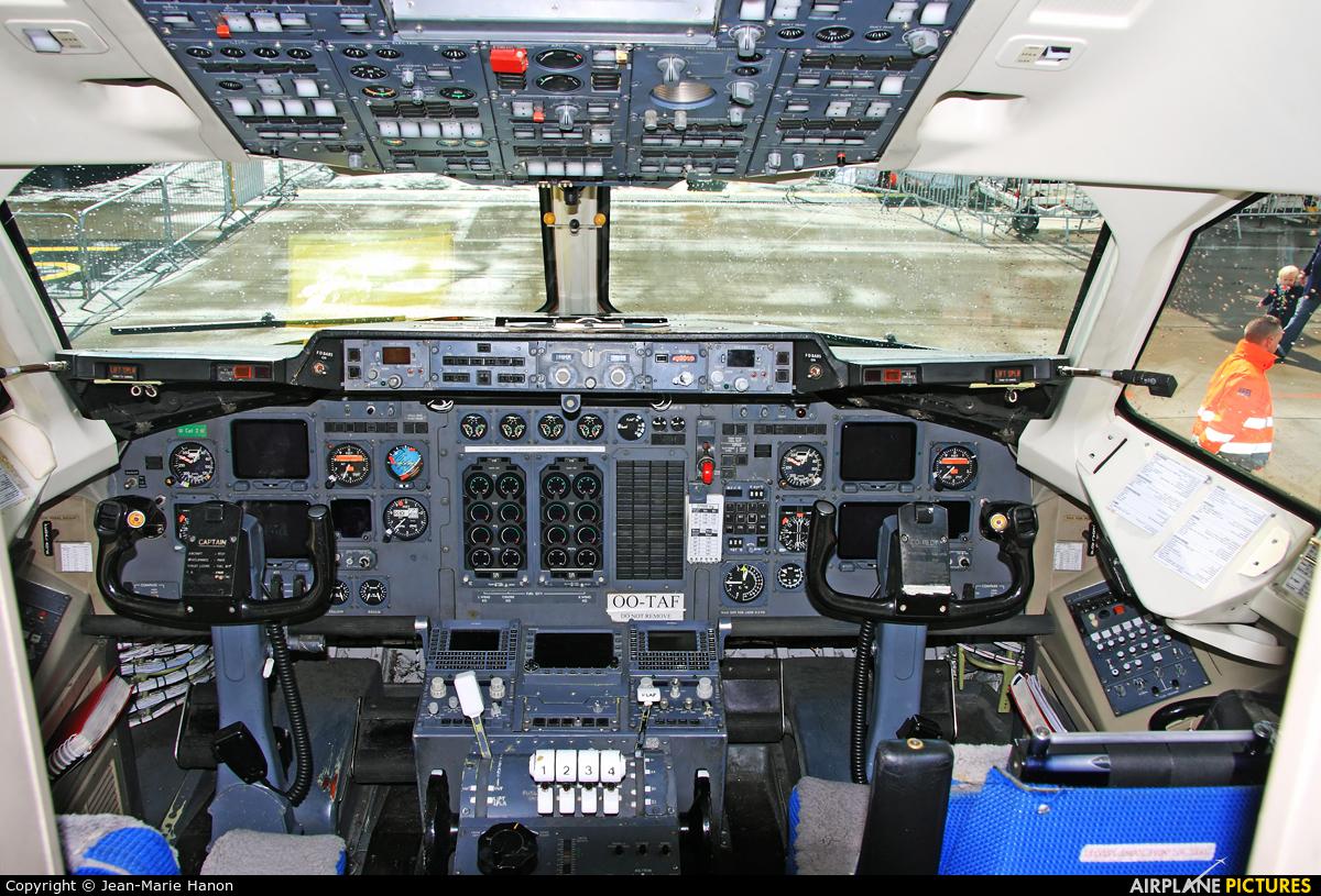 TNT OO-TAF aircraft at Liège-Bierset