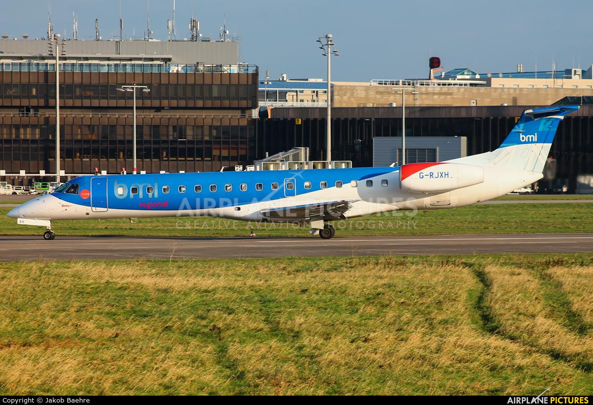 BMI Regional G-RJXH aircraft at Hannover - Langenhagen