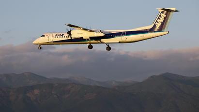 JA858A - ANA Wings de Havilland Canada DHC-8-400Q / Bombardier Q400