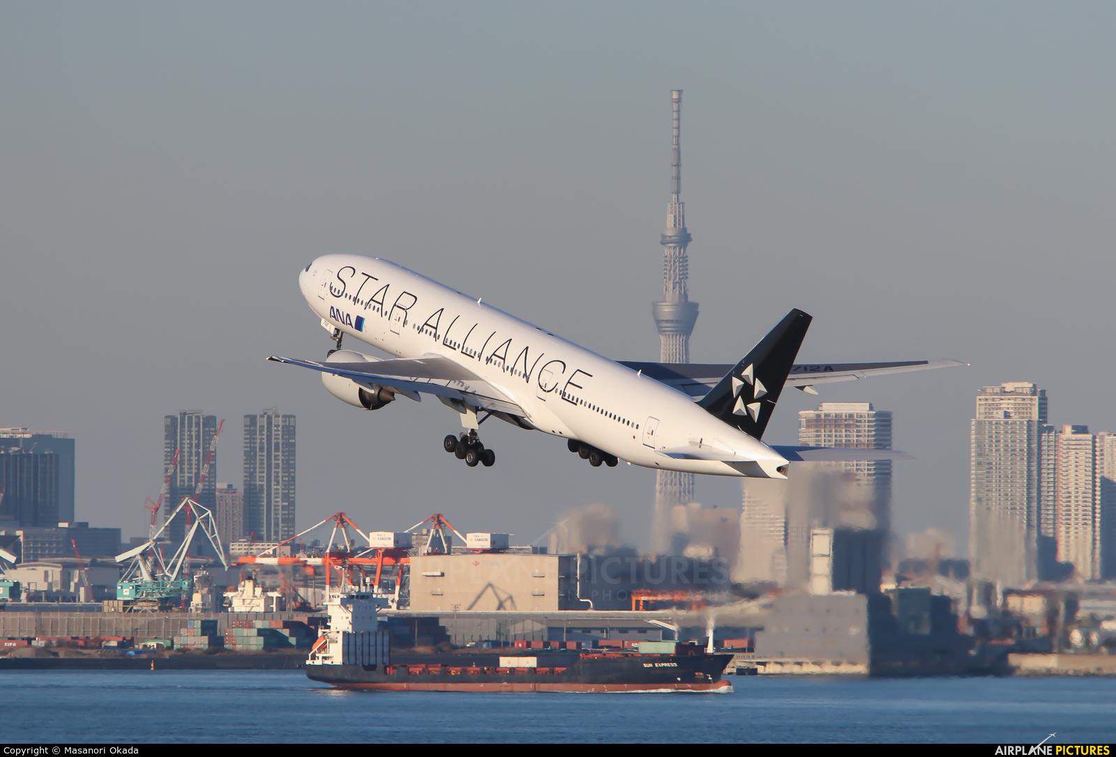 ANA - All Nippon Airways JA712A aircraft at Tokyo - Haneda Intl