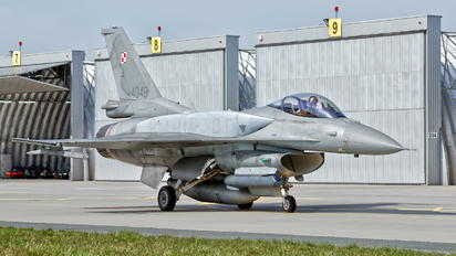 4049 - Poland - Air Force Lockheed Martin F-16C block 52+ Jastrząb