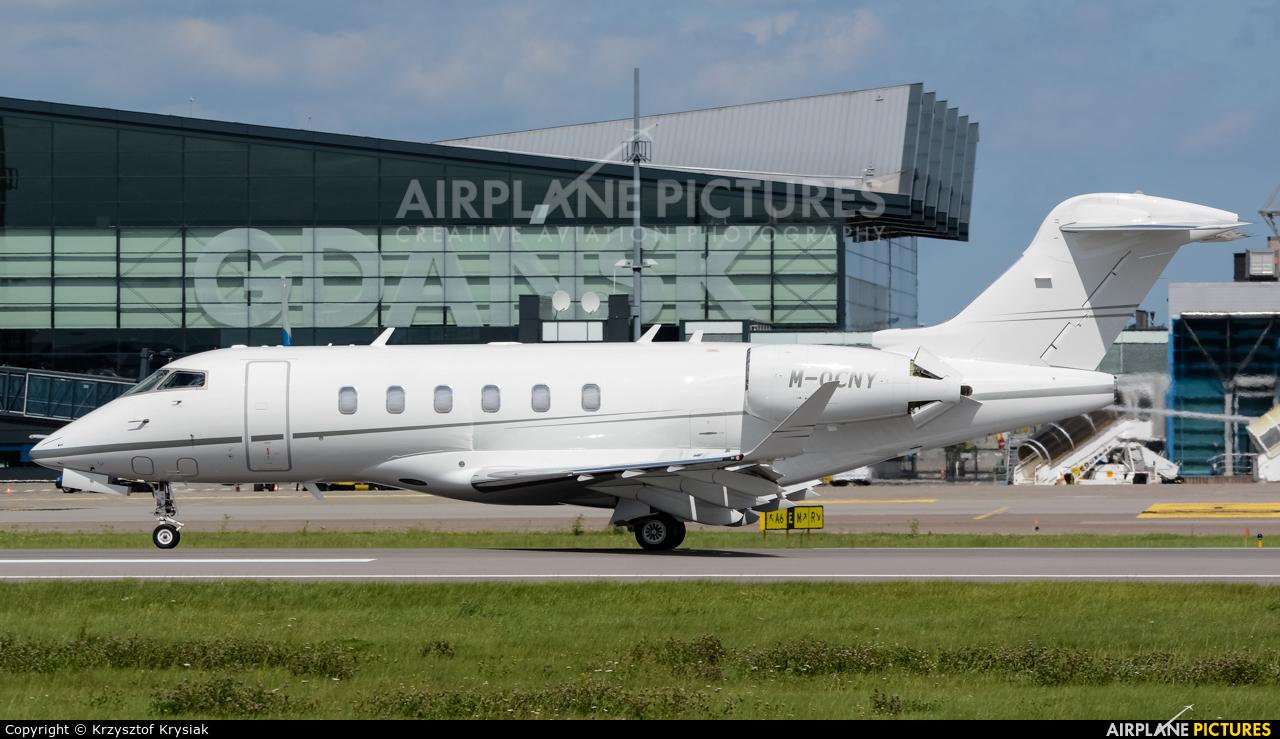 Private M-OCNY aircraft at Gdańsk - Lech Wałęsa