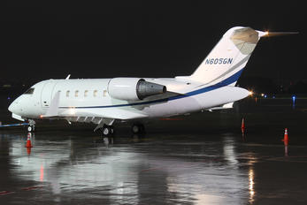 N605GN - Private Canadair CL-600 Challenger 605