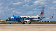 JA05RK - JAL - Japan Transocean Air Boeing 737-800 aircraft