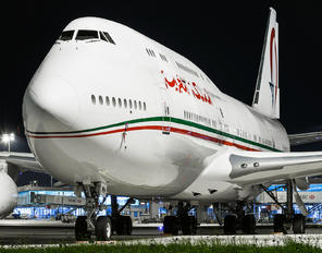 CN-MBH - Morocco - Government Boeing 747-8