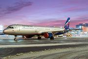 VP-BDC - Aeroflot Airbus A321 aircraft