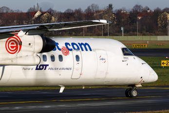 SP-EQG - LOT - Polish Airlines de Havilland Canada DHC-8-400Q / Bombardier Q400