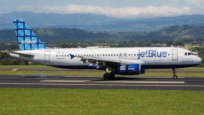 N587JB - JetBlue Airways Airbus A320