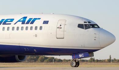 YR-BMC - Blue Air Boeing 737-800