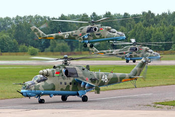 48 - Belarus - Air Force Mil Mi-24V