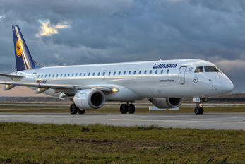 D-AEMB - Lufthansa Regional - CityLine Embraer ERJ-195 (190-200)