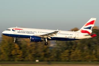 G-EUUR - British Airways Airbus A320