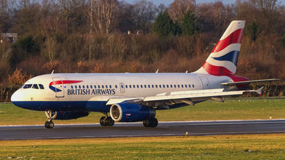 G-EUOA - British Airways Airbus A319