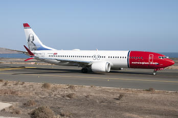 EI-FYD - Norwegian Air International Boeing 737-8 MAX