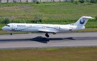 EP-ASQ - Iran Aseman Fokker 100 aircraft