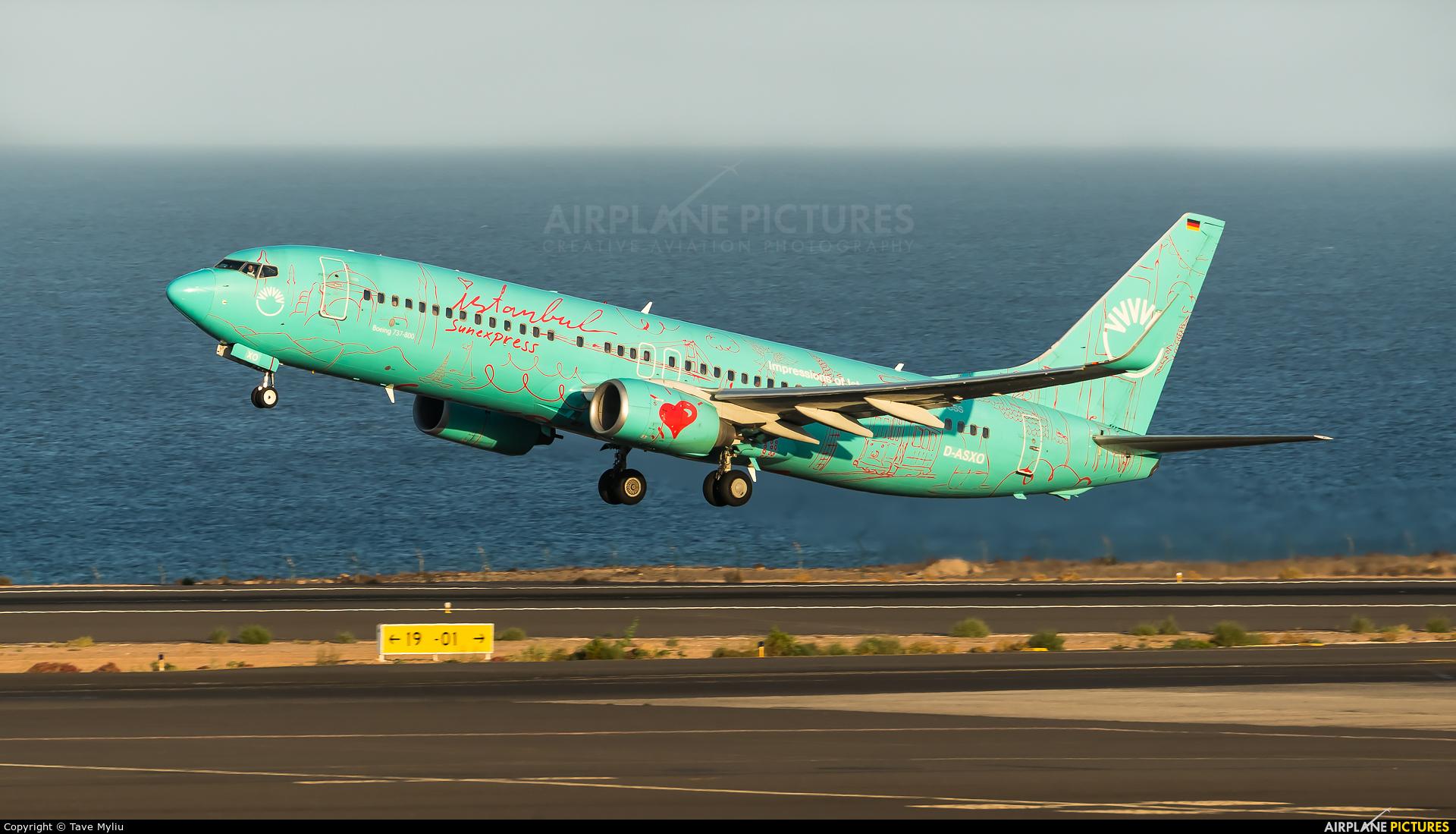 SunExpress Germany D-ASXO aircraft at Fuerteventura - Puerto del Rosario