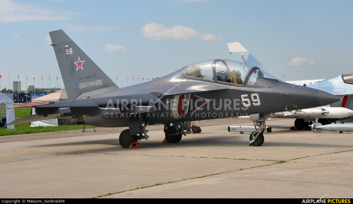 Russia - Air Force RF-44574 aircraft at Ramenskoye - Zhukovsky