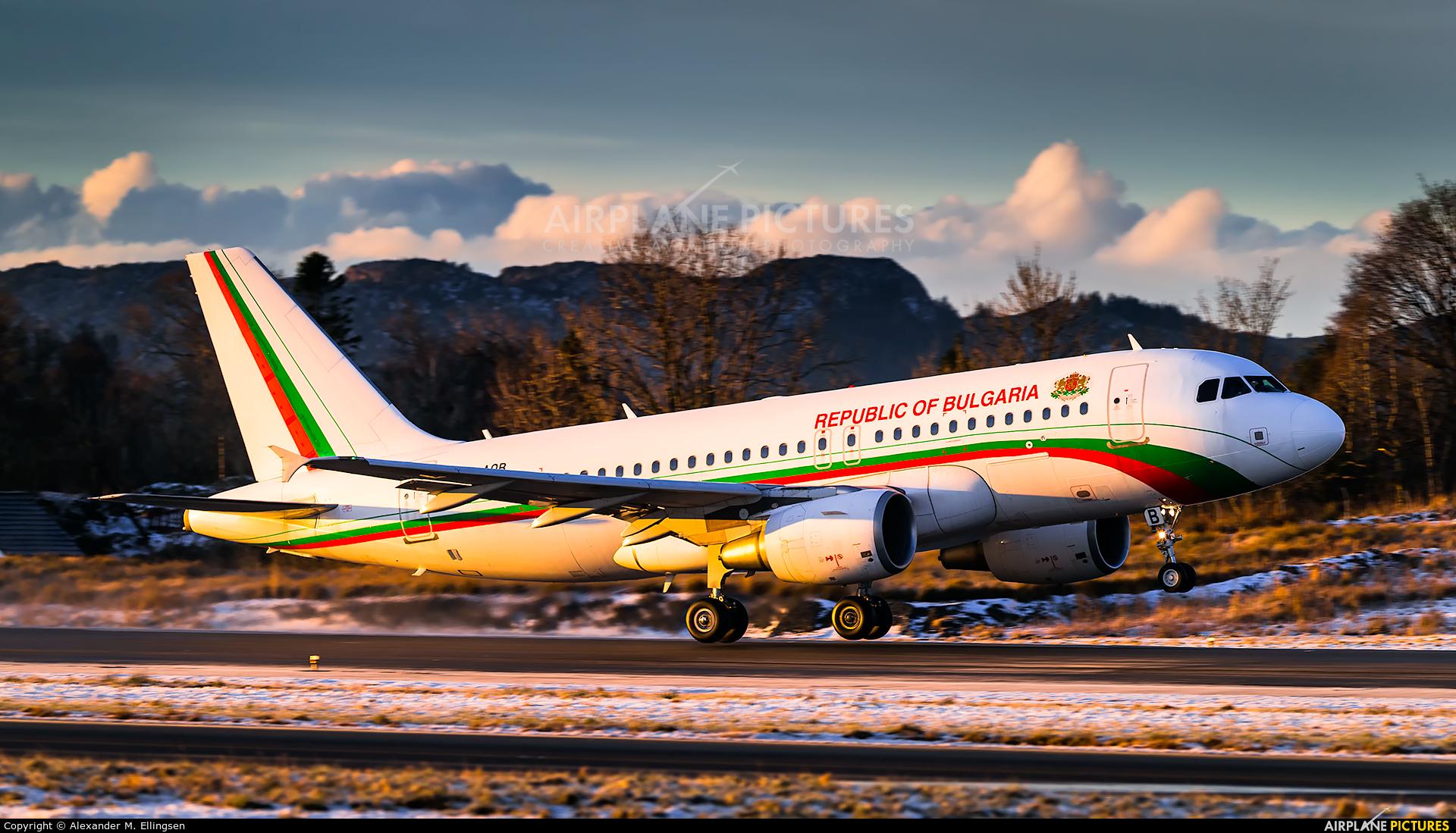 Bulgaria - Government LZ-AOB aircraft at Bergen - Flesland