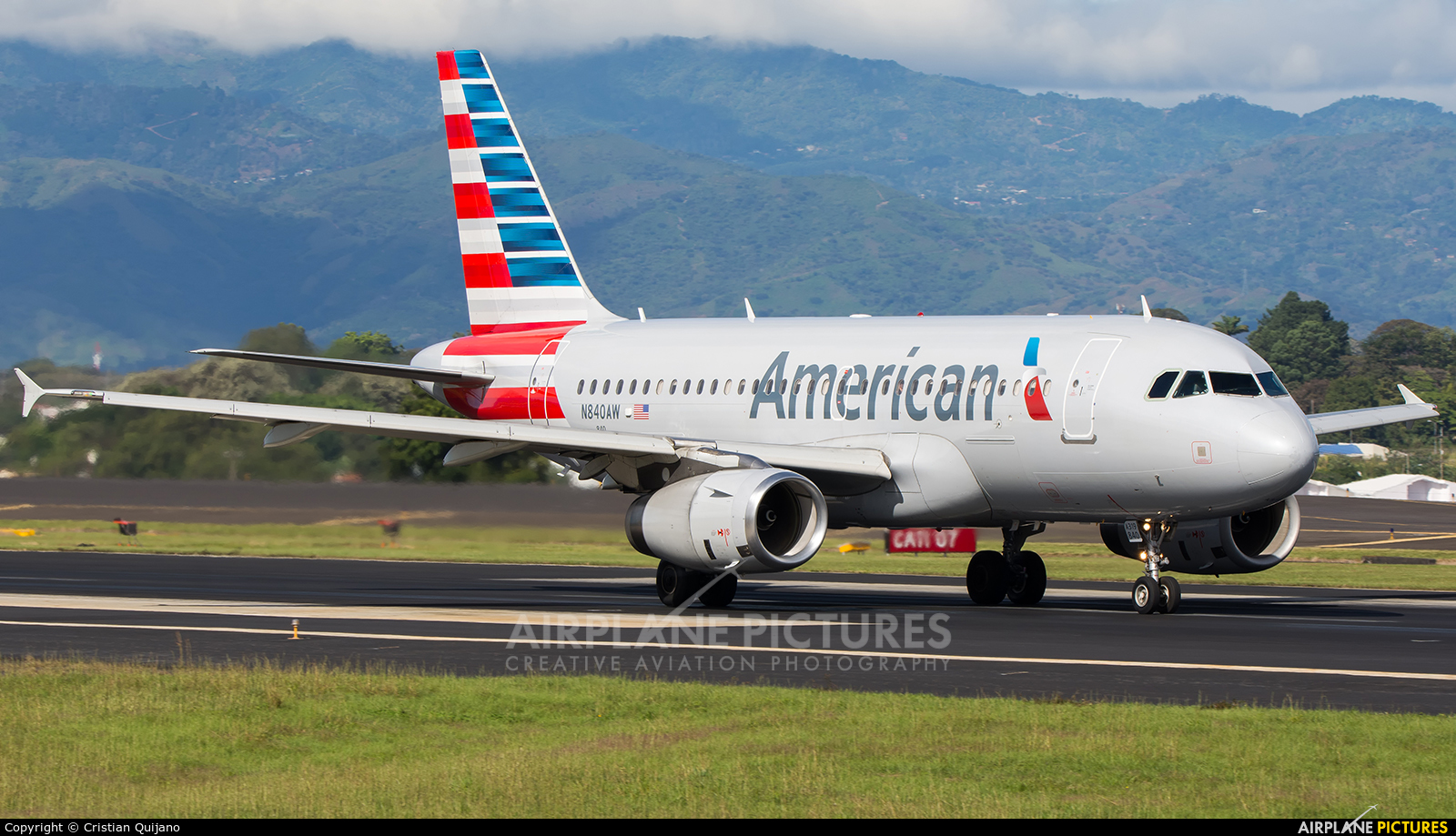 American Airlines N840AW aircraft at San Jose - Juan Santamaría Intl