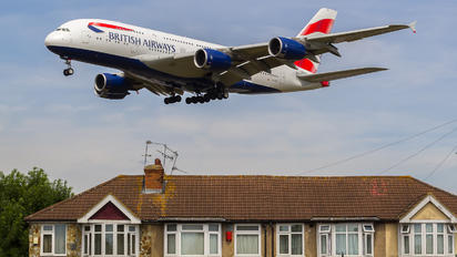 G-XLEE - British Airways Airbus A380
