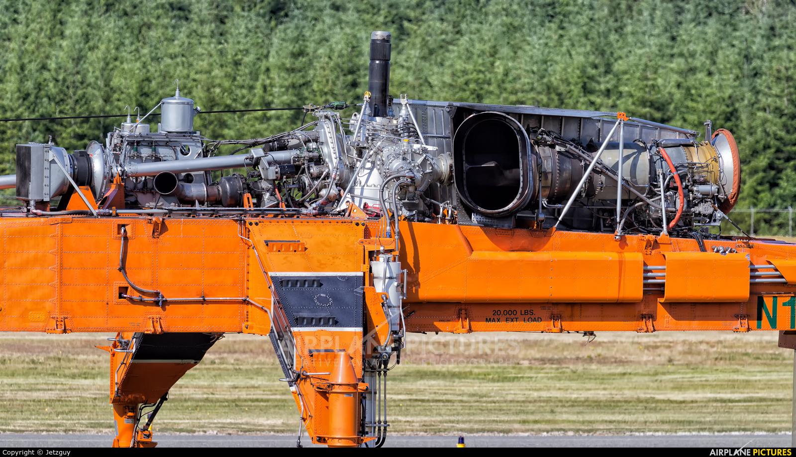 Erickson Air-Crane N172AC aircraft at Campbell River Airport