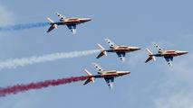 "E31 - France - Air Force ""Patrouille de France"" Dassault - Dornier Alpha Jet E aircraft"