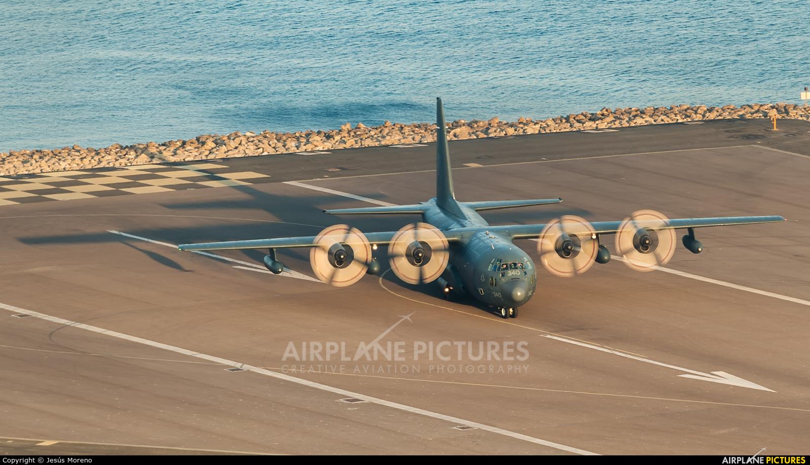 Canada - Air Force 130340 aircraft at Gibraltar